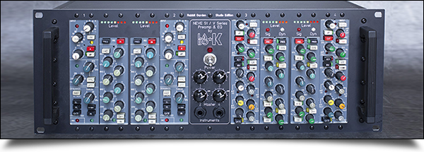 Rack Neve V rack 19 option deux DI by Labo ★ K Effects