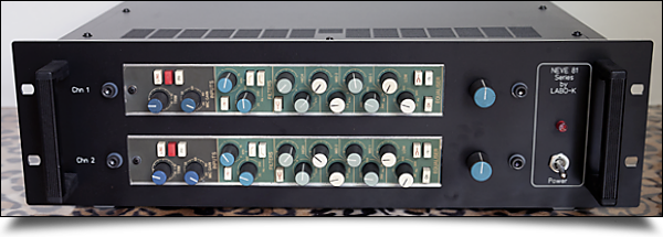 Rack Neve 81 series by Labo ★ K Effects