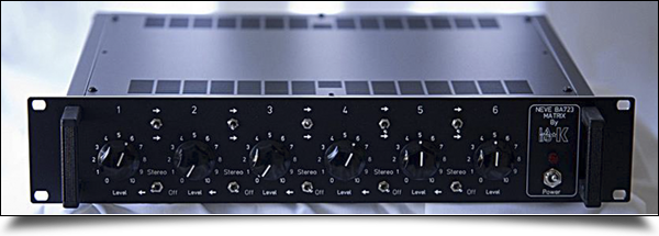 Rack Neve BA723 Matrix by Labo ★ K Effects