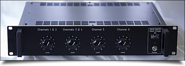 Rack Neve BA723 Output Stages by Labo ★ K Effects