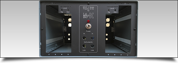 Rack vide Neve VR option deux DI by Labo ★ K Effects